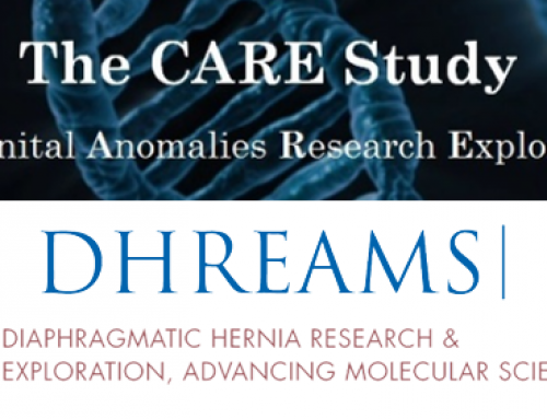 CARE and DHREAMS studies: an opportunity to enhance our genetic understanding of congenital anomalies